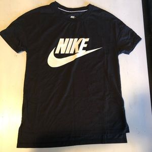 Nike Tops - Nike streetwear black over sized t shirt size S